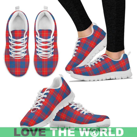 Galloway Red Tartan Sneakers - Bn Mens Sneakers Black 1 / Us5 (Eu38)