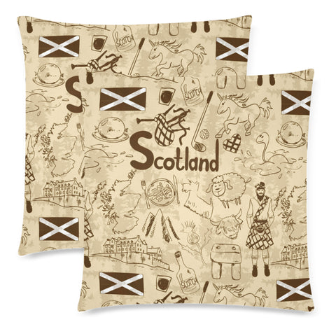 Scotland Things - Pillow Cushions Cover | Custom Design