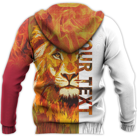 Image of Scotland Lion Fire Hoodie | Men & Women | Clothing