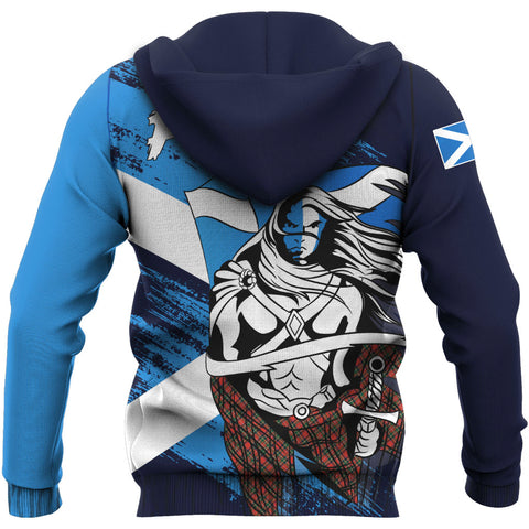 Scottish Warrior Pullover Hoodie