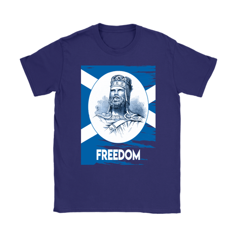 Image of Scottish Surname - King Robert The Bruce T-Shirts