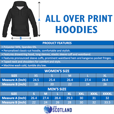 Scottish Thistle - Flower of Scotland Hoodie (Original Version)