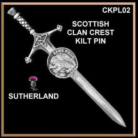 Sutherland Kilt Pin Scottish Pin | 1stScotland