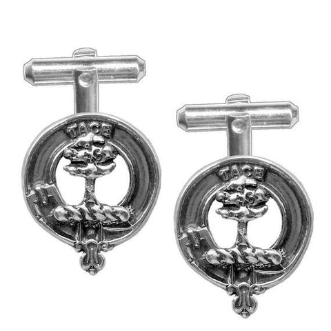 Abercrombie Tartan Clan Badge Scottish Cufflink