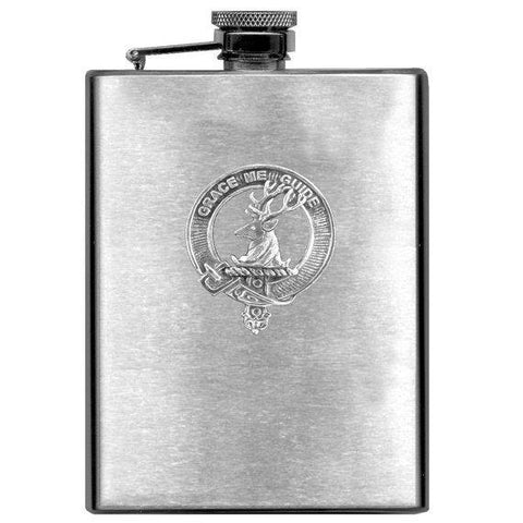 Forbes Tartan Clan Crest Scottish Badge Flask | 1stScotland