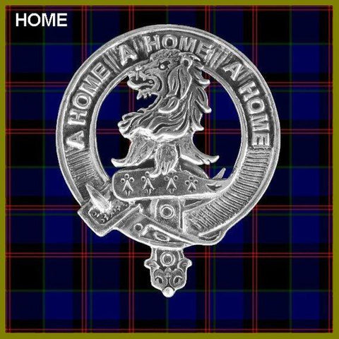 Home Tartan Clan Crest Scottish Badge Flask
