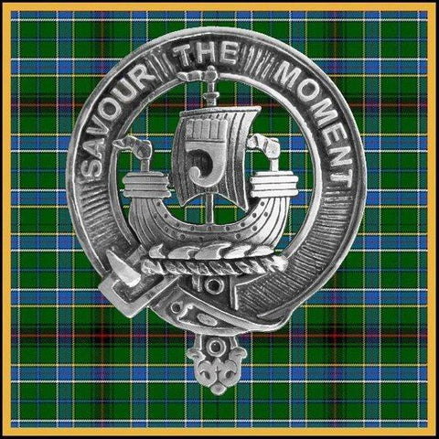 Duncan (Sketraw) Tartan Clan Crest Badge Leather Sporran