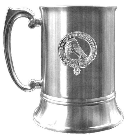 Abernethy Tartan Scottish Clan Crest Badge Tankard | 1stScotland