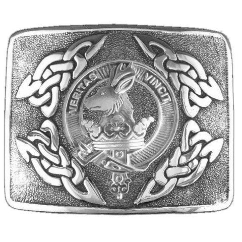 Image of Keith Clan Crest Interlace Kilt Buckle | 1stScotland
