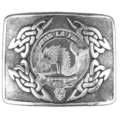 Kennedy Clan Crest Interlace Kilt Buckle | 1stScotland