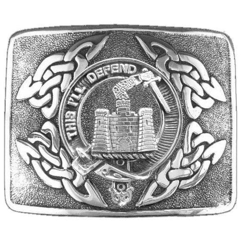 Image of Kincaid Clan Crest Interlace Kilt Buckle | 1stScotland