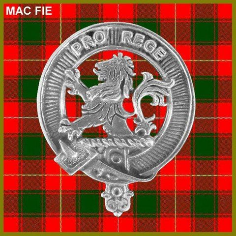 MacFie Crest Scottish Cap Badge
