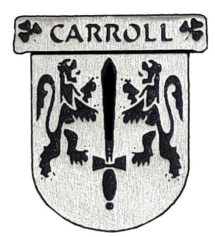 Carroll Irish Clan Badge Tie Tack