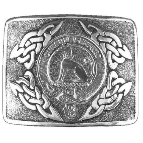 Hunter Clan Crest Interlace Kilt Buckle | 1stScotland