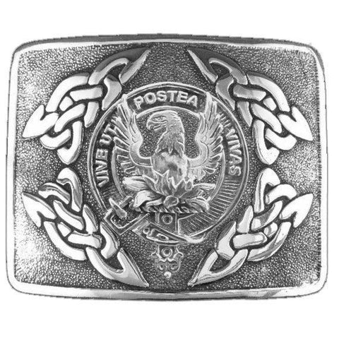 Johnston (Caskieben) Clan Crest Interlace Kilt Buckle | 1stScotland