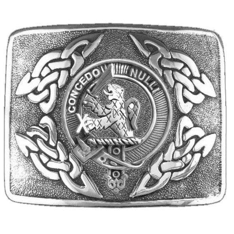 Little Clan Crest Interlace Kilt Buckle | 1stScotland