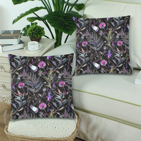 Dark Thistle - Pillow Covers | Special Custom Design