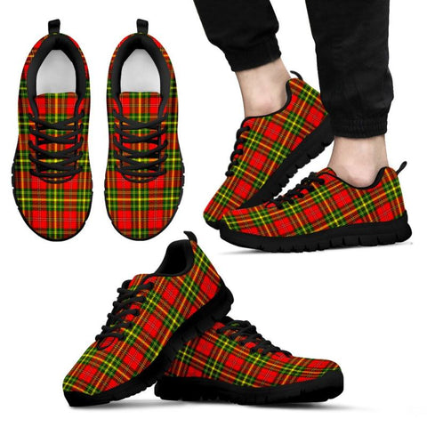 Leask Tartan Sneakers - Bn Mens Sneakers Black 1 / Us5 (Eu38)