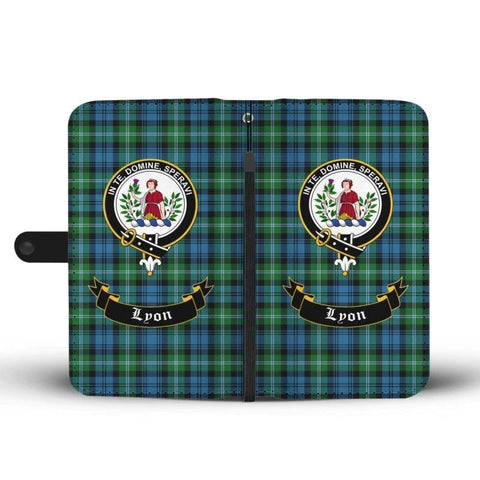 Tartan Wallet Case - Lyon Clan | Scottish Wallet Case | 1stScotlands