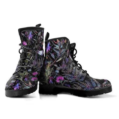 Image of Dark Thistle - Leather Boots