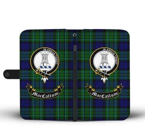 Tartan Wallet Case - Maccallum Clan | Scottish Wallet Case | 1stScotlands