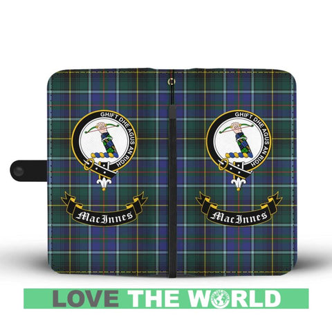 Tartan Wallet Case - Macinnes Clan | Scottish Wallet Case | 1stScotlands