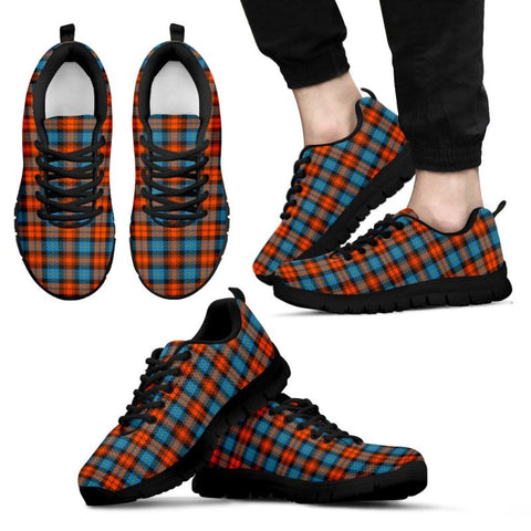 Maclachlan Ancient Tartan Sneakers - Bn Mens Sneakers Black 1 / Us5 (Eu38)