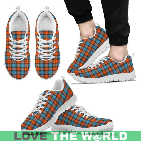 Image of Maclachlan Ancient Tartan Sneakers - Bn Mens Sneakers Black 1 / Us5 (Eu38)