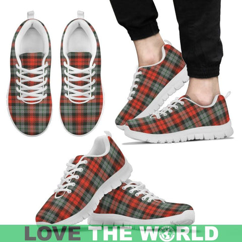 Maclachlan Weathered Tartan Sneakers - Bn Mens Sneakers Black 1 / Us5 (Eu38)
