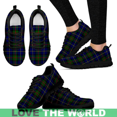 Macleod Of Harris Modern Tartan Sneakers - Bn Mens Sneakers Black 1 / Us5 (Eu38)