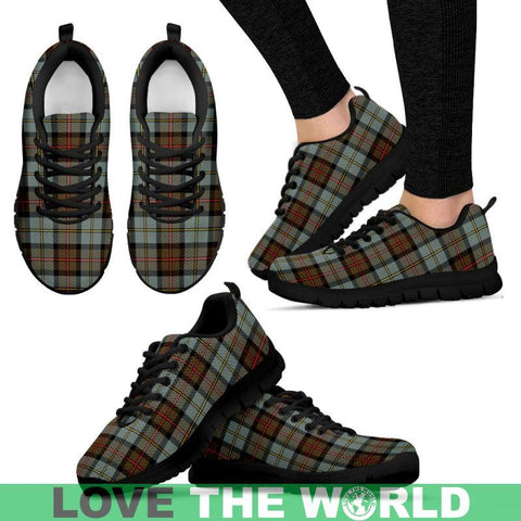 Macleod Of Harris Weathered Tartan Sneakers - Bn Mens Sneakers Black 1 / Us5 (Eu38)