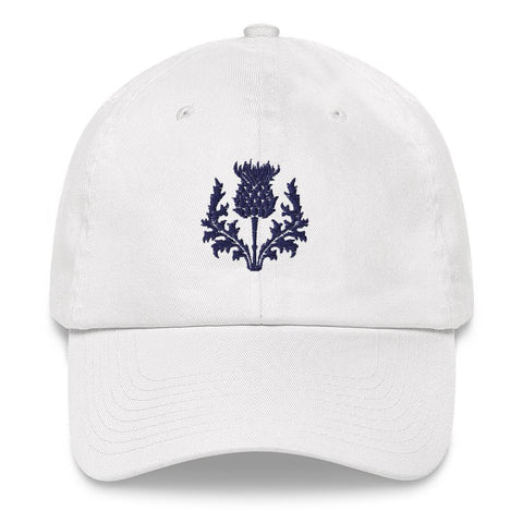 Scotland Dad Hat Purple Thistle Personal Signature A02