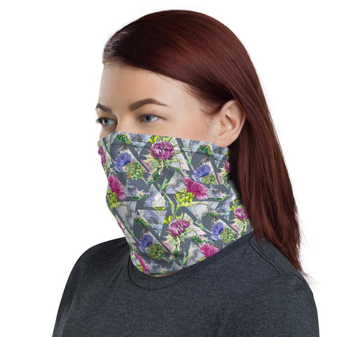 Image of Scotland Neck Gaiter - Thistle Pattern Special | Love Scotland