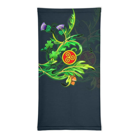 Scotland Neck Gaiter - Thistle Celtic Knot | Love Scotland