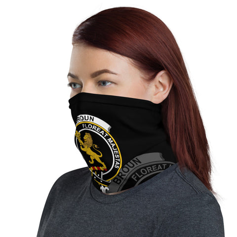 Custom Clan Crest Scottish Scotland Neck Gaiter| Love Scotland