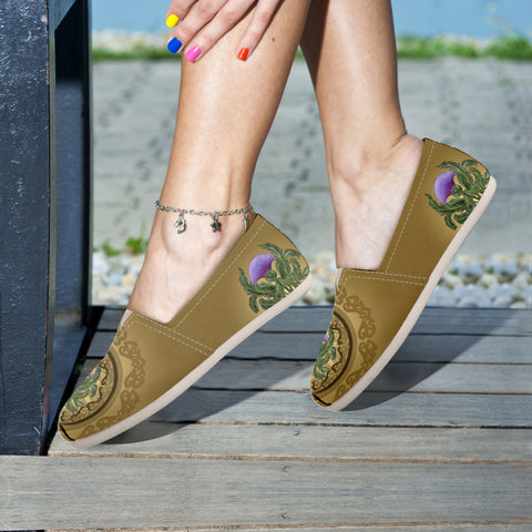 Luxurious Thistle Scottish - Women's Casual Shoes