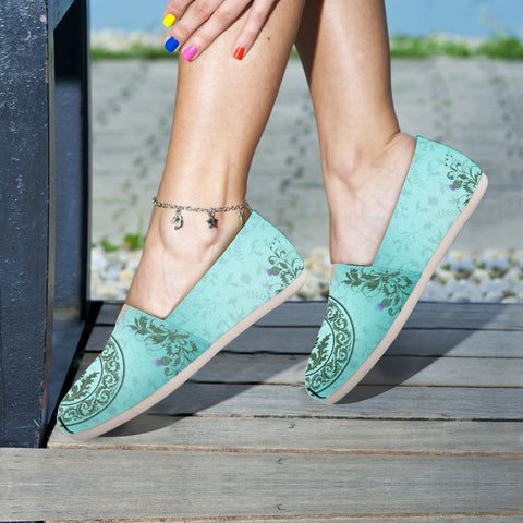 Green Thistle - Women's Casual Shoes | Special Custom Design