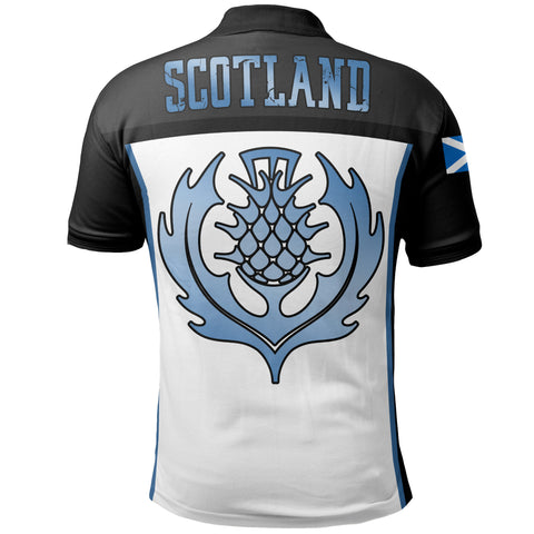 Scottish Brush Thistle Polo Shirt | Women & Men | Clothing