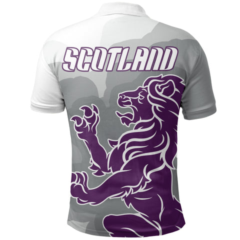 Scotland Rugby Lion Polo Shirt | Clothing | Love Scotland