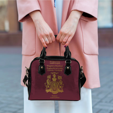 Image of Scotland Passport - Shoulder Handbag | Special Custom Design