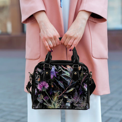Dark Thistle - Shoulder Handbag | Special Custom Design