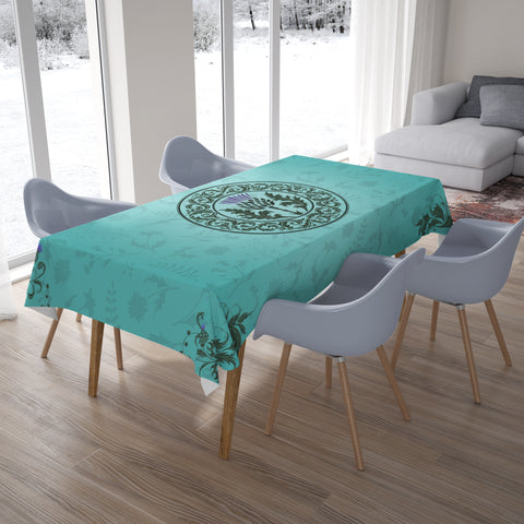 Green Thistle - Tablecloth | Special Custom Design
