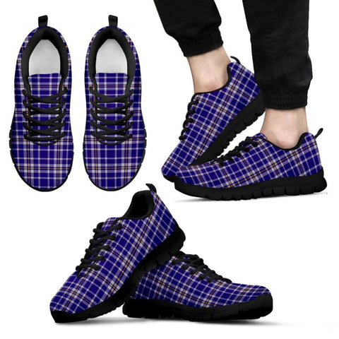Image of Ochterlony Tartan Sneakers - Bn Mens Sneakers Black 1 / Us5 (Eu38)