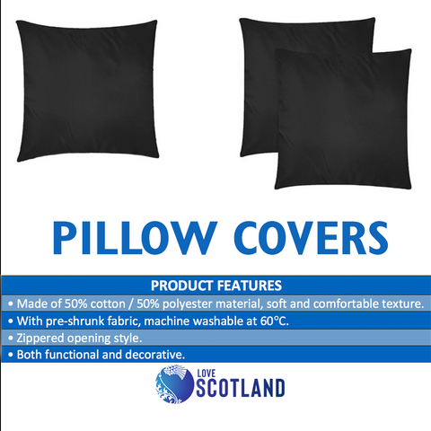 Image of Scotland Pillow Case - Thistle Celtic Special A24