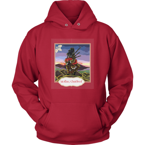 Image of Nollaig Chridheil Terrier T-shirts And Hoodies
