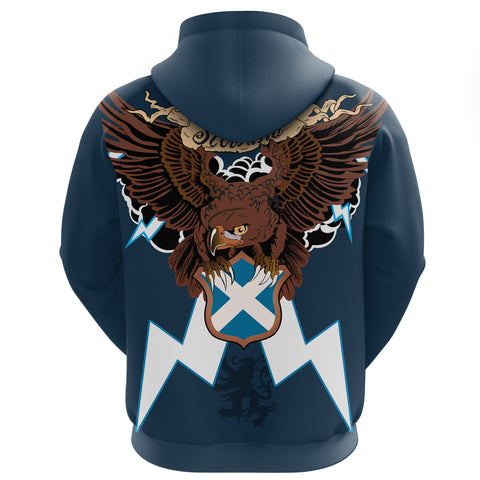 Image of Scotland Zip Hoodie - Scottish Sword Tartan Thistle | Love ScotlandScotland Zip Hoodie - Scottish Eagle And Lion | Love Scotland