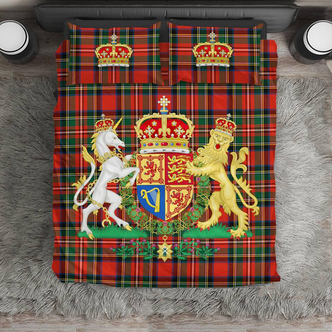 Scottish Royal Stewart - Scotland Bedding Set