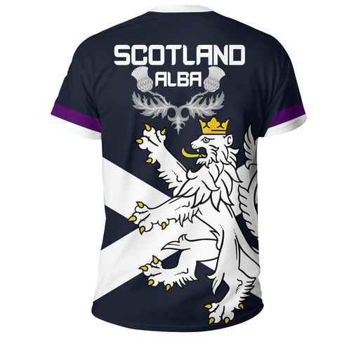 Image of Abernethy T-Shirt Scottish Lion | Over 300 Clans