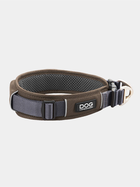 DOG-Copenhagen-collier-pour-chien-resistant-urban-explorer-marron-