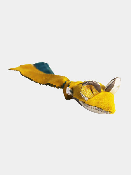 Homycat-jouet-made-in-france-pour-chat-souris-jaune